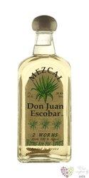 """Don Juan Escobar """" Joven """" 100% of agave mexican mezcal 37% vol.      0.70 l"""