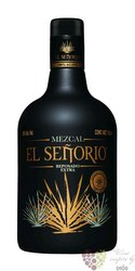 "el Senorio "" Reposado extra "" Mexican mezcal 38% vol. 0.70 l"