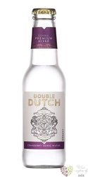 "Double Dutch "" Cranberry & Ginger "" flavored English tonic water  0.20 l"