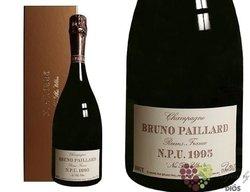 """Bruno Paillard blanc 1995 """" NPU Milesime """" brut Grand cru Champagne    0.75 l"""