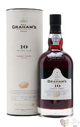 W&J Graham´s 10 years old wood aged tawny Porto Doc by Symington 20% vol.  0.75l