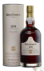 W&J Graham´s 20 years old wood aged Tawny Porto DOC by Symington 20% vol.0.75 l