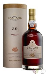 W&J Graham´s 30 years old wood aged tawny Porto Doc by Symington 20% vol.    0.75 l