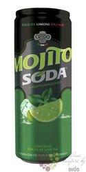 "Lemon Soda "" Mojito Soda "" Terme di Crodo  0.33 l"