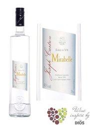 """Joseph Cartron """" Mirabelle """" French mirabelle brandy 45% vol.    0.70 l"""