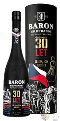 "Baron Hildprandt "" 30years ltd edition ze zralých hrušek "" Bohemian pear brandy40% vol.  0.70 l"