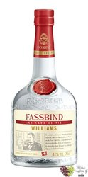 "Fassbind Eau de Vie "" Wiliams "" Swiss fruits brandy by 43% vol.  0.70 l"