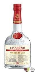 "Fassbind Eau de Vie "" Framboise "" Swiss fruits brandy by 43% vol.     0.70 l"