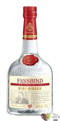 "Fassbind Eau de Vie "" Kirsch "" Swiss fruits brandy 43% vol.     0.70 l"