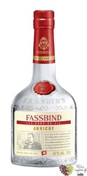 "Fassbind Eau de Vie "" Abricot "" Swiss fruits brandy by 41% vol.    0.50 l"
