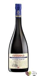 """Fassbind les vieilles barriques """" Cerise """" Swiss aged fruits brandy 40%vol.   0.70 l"""