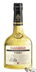 "Fassbind Brut de Fut "" Pomme Berner Rose "" Swiss aged fruits brandy 54.5% vol. 0.50 l"