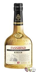 "Fassbind Brut de Fut "" Kirsch Vieux du Righi "" Swiss fruits aged brandy 54.5% vol.    0.50 l"