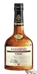 "Fassbind Brut de Fut "" Prune Pflumli "" Swiss fruits aged brandy 54.5% vol.    0.50 l"