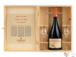 "Fassbind les vieilles barriques "" Abricot "" 2 glass pack Swiss aged fruits brandy 40% vol. 0.70 l"