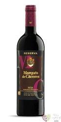 """Marqués de Cáceres tinto """" Reserva """" 2012 Rioja DOCa   0.75 l"""
