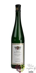 """Riesling spätlese """" Kiedricher Sandgrup """" 2008 Rheingau weingut Baron Knyphausen     0.75 l"""