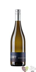 Weissburgunder trocken 2015 Baden bio wine QbA weingut Klumpp   0.75 l
