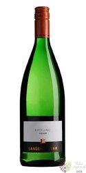 """Pinot blanc - Weisser Burgunder """" Gastro """" Pfalz VdP Gutswein Langenwalter  1.00 l"""