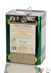 """Olio extra vergine di oliva """" Terre dell Abbazia """" Italy Abruzzo by Ursini     3.00 l"""