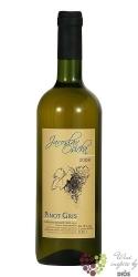 Pinot Gris 2009 moravské víno zemské z vinařství Jaroslav Osička    0.75 l