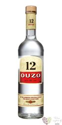 "Ouzo 12 "" Original "" Greek anise liqueur 38% vol.  1.00 l"