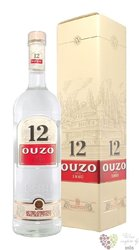 "Ouzo 12 "" Original "" gift box original Greek anise liqueur 38% vol.   0.70 l"