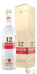 "Ouzo 12 "" Original "" gift box original Greek anise liqueur 38% vol.  1.00 l"