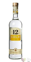 "Ouzo 12 "" Gold "" Greek anise liqueur 38% vol.   0.70 l"