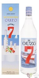 Ouzo 7 Greek anise liqueur 38% vol.  1.00 l