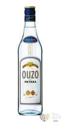 Ouzo original Greek anise liqueur by Metaxa 38% vol.  0.70 l