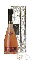 """Cattier rosé """" Red Kiss Arabesque """" Brut gift box 1er cru Champagne    0.75 l"""