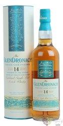"GlenDronach "" Virgin oak finish "" aged 14 years Single malt Highland whisky 46%vol.   0.70 l"