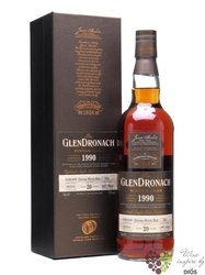 "GlenDronach 1990 "" Single cask "" aged 20 years single malt Speyside whisky 52.6% vol.  0.70 l"