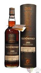 "GlenDronach 1993 "" Single cask "" aged 21 years single malt Speyside whisky 58.1% vol.  0.70 l"