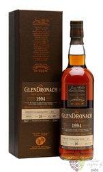 "GlenDronach 1994 "" Single cask "" aged 20 years single malt Speyside whisky 53.6% vol.  0.70 l"
