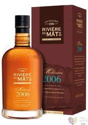 """La Mauny agricole vieux extra """" Saphir """" premium rum of Martinique 42% vol.  0.70 l"""