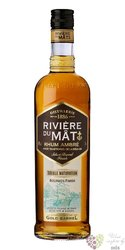 """Riviere du Mat agricole Ambre """" Double maturation """" aged Reunion rum 45% vol.  0.70 l"""