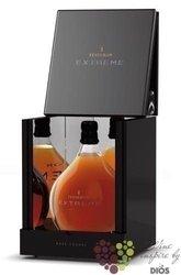 "Tesseron "" Extreme coffret noir "" aged 100+ years Grande Champagne Cognac 40% vol.   1.75 l"