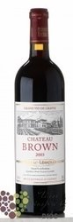 Chateau Brown 2003 Grand Cru Classé de Graves    0.75 l
