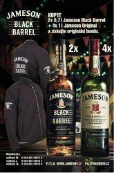Jameson Black barrel Bunda