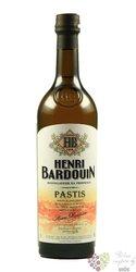Henri Bardouin original French anise aperitif pastis de Provence 45% vol.    0.10 l