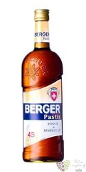 Berger French aperitif anise pastis de Marseille 45% vol.     1.00 l