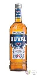 Duval French aperitif anise pastis de Marseille 45% vol.  0.70 l