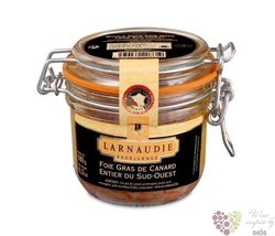 Francouzské kachné foie gras v celku ve skleničce Larnaudie   125g