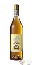 Pineau des Charentes blanc Aoc maison Prunier 17% vol.  0.75 l