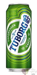 Tuborg Green Danish beer 4.6% vol.  0.33 l