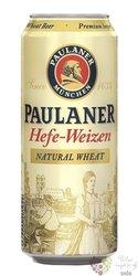 Paulaner German hefe weissbier 5.5% vol.  0.50 l