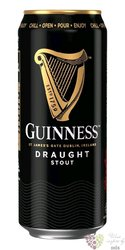 "Guinness "" Draught "" Irish stout beer 4.2% vol.  0.44 l"
