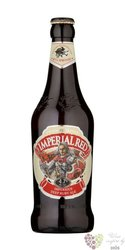 Imperial red beer of United Kingdom 4,7 % vol. 0.50 l